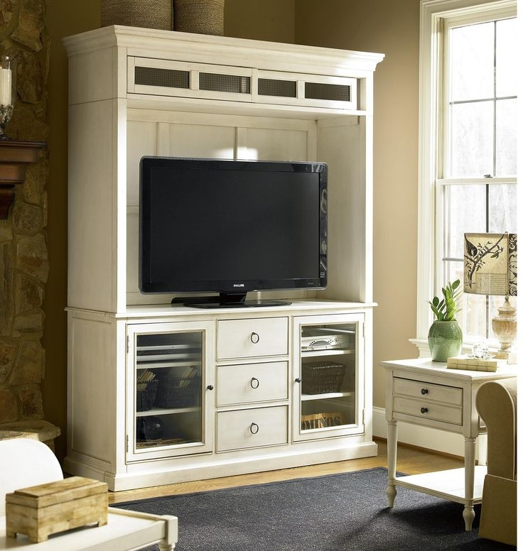 Brilliant Widely Used Maple TV Stands Throughout Best 25 White Tv Stands Ideas On Pinterest Tv Stand Furniture (View 41 of 50)