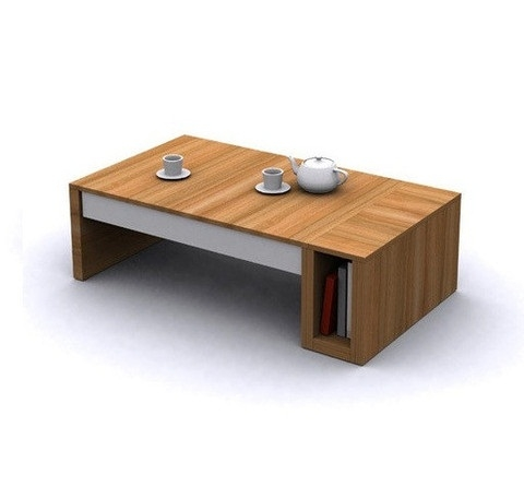 Brilliant Widely Used Metal Square Coffee Tables With Delighful Contemporary Square Coffee Tables Solid Wood Table (Image 15 of 40)