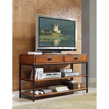 Brilliant Widely Used Modern Wooden TV Stands Throughout Oak Tv Stand 6745590 Hsn (Image 18 of 50)