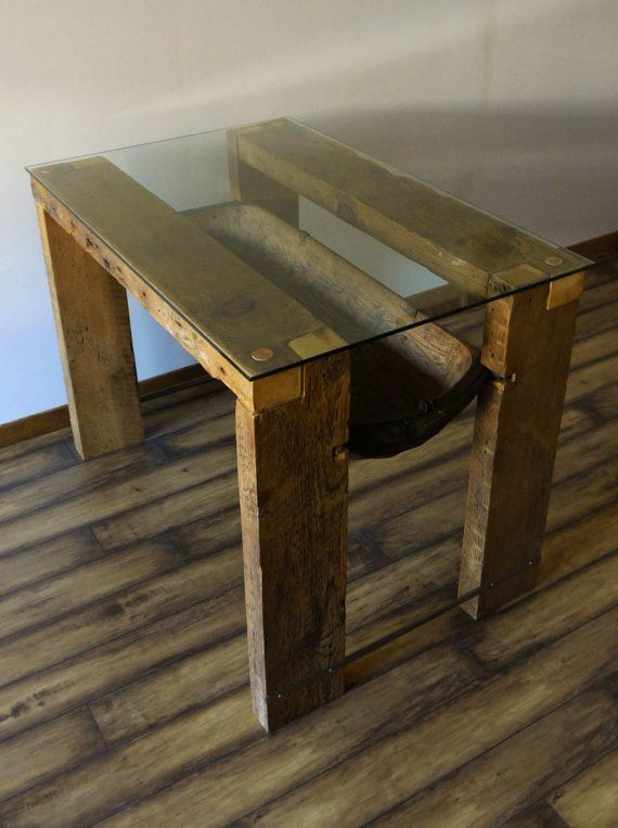 Brilliant Widely Used Reclaimed Wood And Glass Coffee Tables Throughout 58 Best Glass And Reclaimed Wood Images On Pinterest Coffee (View 7 of 50)