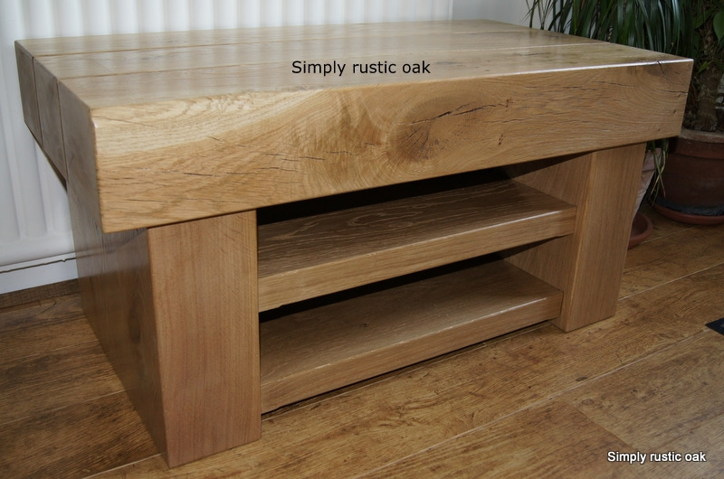 Brilliant Widely Used Rustic Oak TV Stands With Handmade Rustic Oak Beam Tv Stands Handmade Rustic Oak Furniture (View 13 of 50)