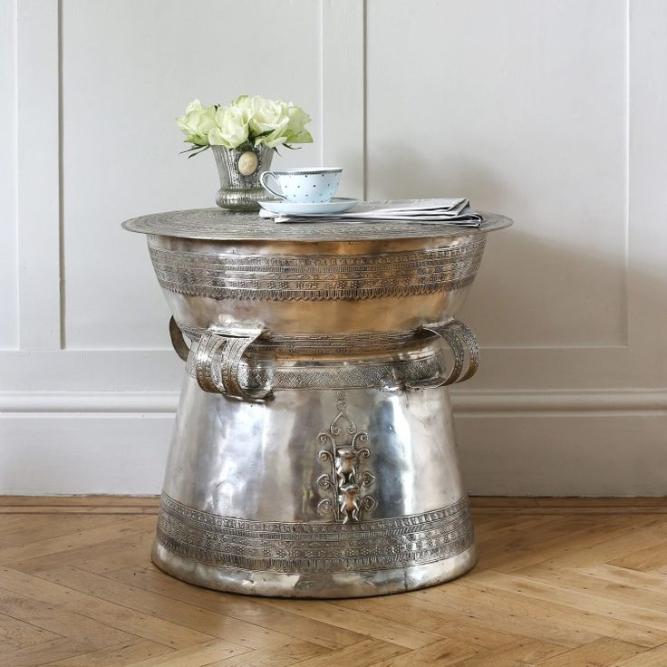Brilliant Widely Used Silver Drum Coffee Tables Intended For Best 25 Silver Coffee Table Ideas Only On Pinterest Gold Glass (Image 9 of 50)