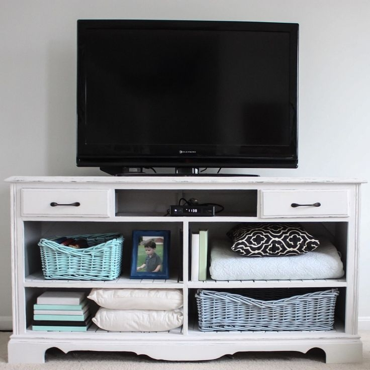 Brilliant Widely Used Small TV Stands For Top Of Dresser With How To Turn An Old Dresser Into A Tv Stand Paint Color Valspar (Image 14 of 50)