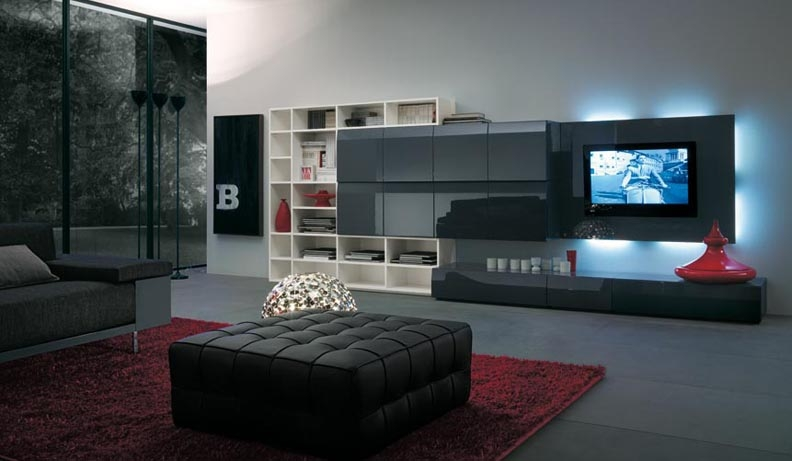 Brilliant Widely Used TV Cabinets And Wall Units Throughout Tv Stands Cheap Glamorous Flat Screen Tv Wall Unit Design (Image 12 of 50)