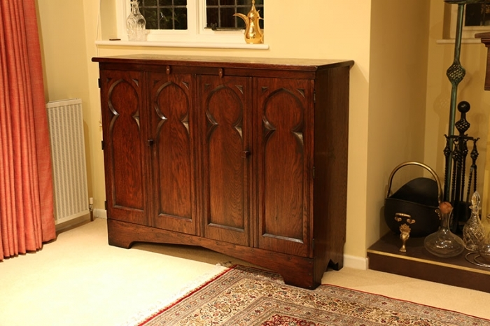 Brilliant Widely Used Unusual TV Cabinets With Bespoke Replica Early Oak Furniture Design Making (View 44 of 50)