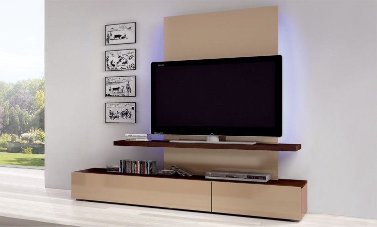 Brilliant Widely Used Wide Screen TV Stands Inside Tv Stands Flat Screen Tv Stand On Wheels Ideas Large Brown (Image 11 of 50)