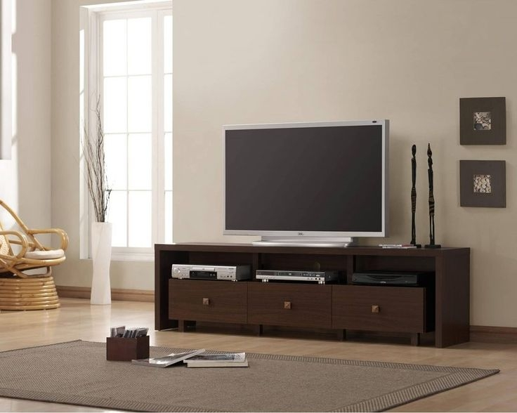 Brilliant Widely Used Wooden TV Stands For Flat Screens Inside Best 25 Wooden Tv Stands Ideas On Pinterest Mounted Tv Decor (View 43 of 50)