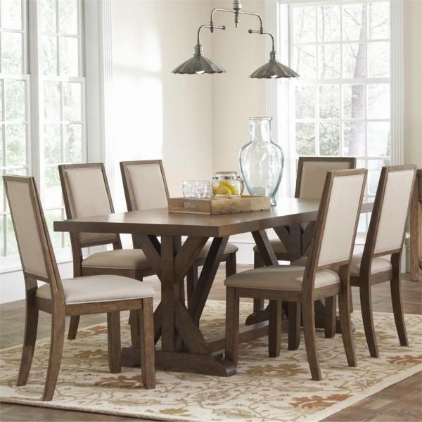 Bring The Outdoors In With These Rustic Dining Room Ideas Within Dawson Dining Tables (Image 3 of 20)