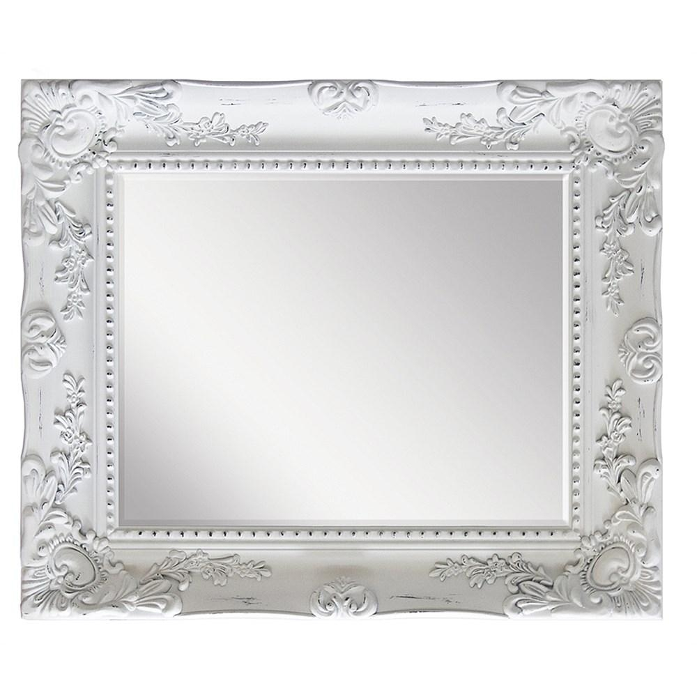 Briscoes – Brooklyn Oakley Mirror White Wash 840X1000Mm With Regard To Ornate White Mirrors (View 12 of 20)