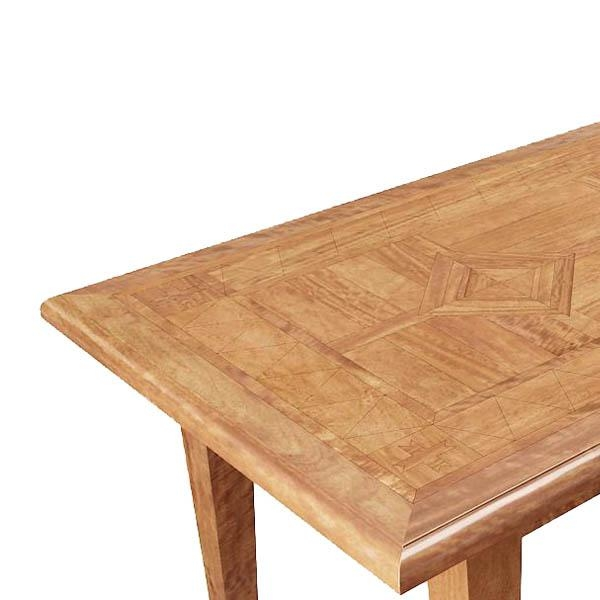 Brittany Parquetry 150X90Cm Dining Table Regarding Brittany Dining Tables (Image 11 of 20)