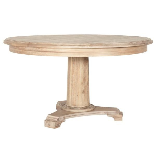 Brittany Wood 54 Inch Round Dining Table – Free Shipping Today Regarding Brittany Dining Tables (Image 12 of 20)