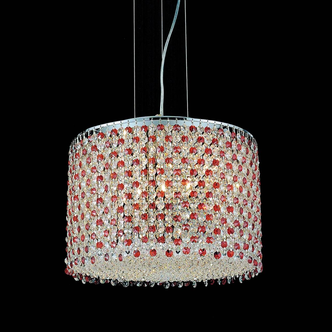Brizzo Lighting Stores 16 Rainbow Modern Round Crystal With Purple Crystal Chandelier Lighting (Image 8 of 25)
