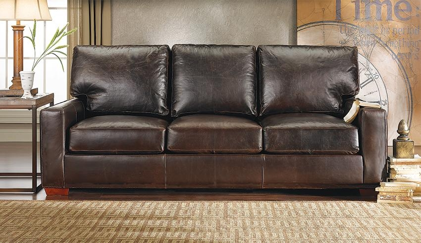 Brompton Leather Sofa – Brompton Italian Leather Sofa, Italian For Brompton Leather Sectional Sofas (Image 6 of 20)