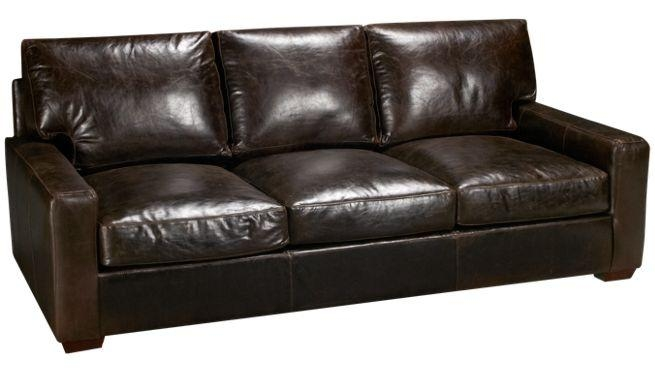 Brompton Leather Sofa – Brompton Italian Leather Sofa, Italian With Regard To Brompton Leather Sofas (Image 7 of 20)