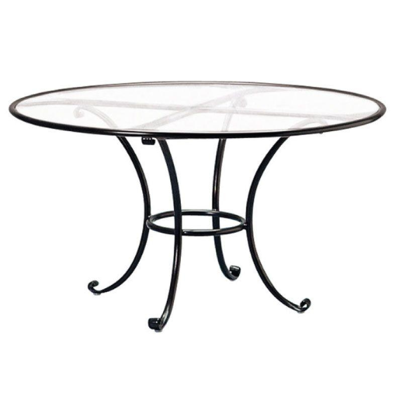 Brown Jordan Roma 48 Round Dining Table With Aluminum Top (No Throughout Roma Dining Tables (View 13 of 20)