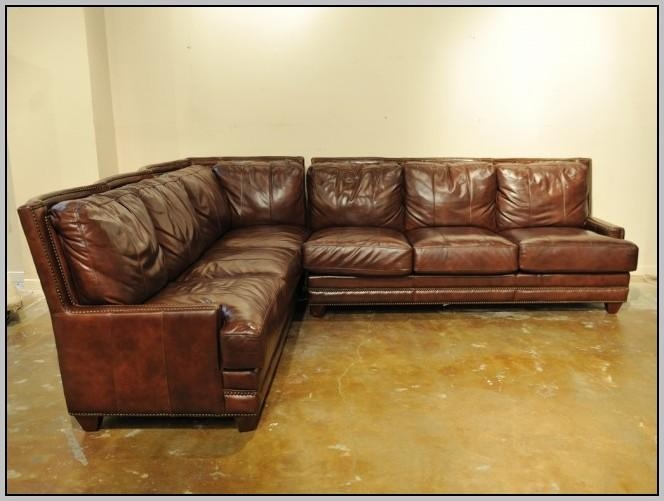 Brown Leather Sofa With Nailhead Trim – Sofas : Home Decorating Pertaining To Brown Leather Sofas With Nailhead Trim (Image 5 of 20)