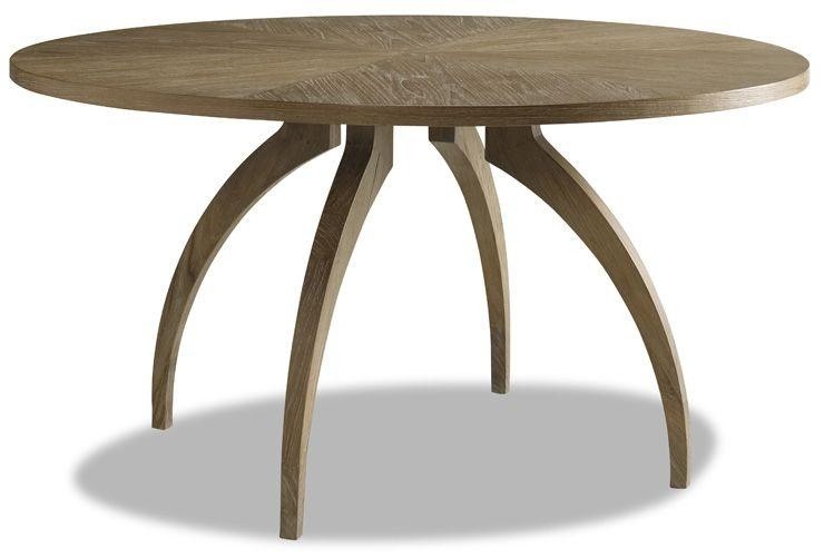 Brownstone Furniture | Atherton Teak Dining Intended For Round Teak Dining Tables (Image 1 of 20)