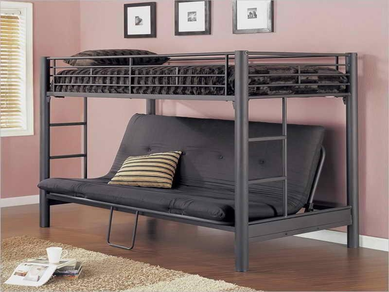 Bunk Bed Twin Over Twin | Sanblasferry In Bunk Bed With Sofas Underneath (Image 10 of 20)