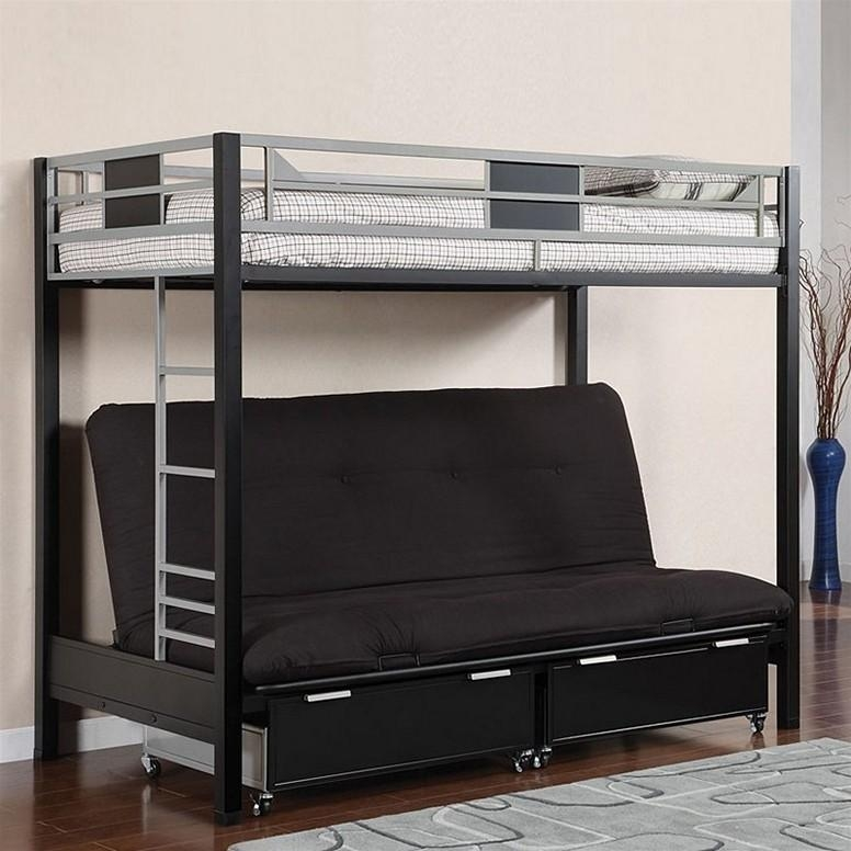 Bunk Beds With Desk And Sofa Underneath Intended For Bunk Bed With Sofas Underneath (Image 12 of 20)