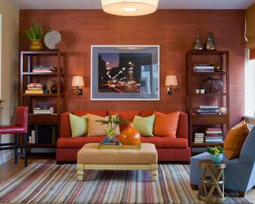 burnt orange living room decor top 14 burnt orange sofas sofa ideas 21643