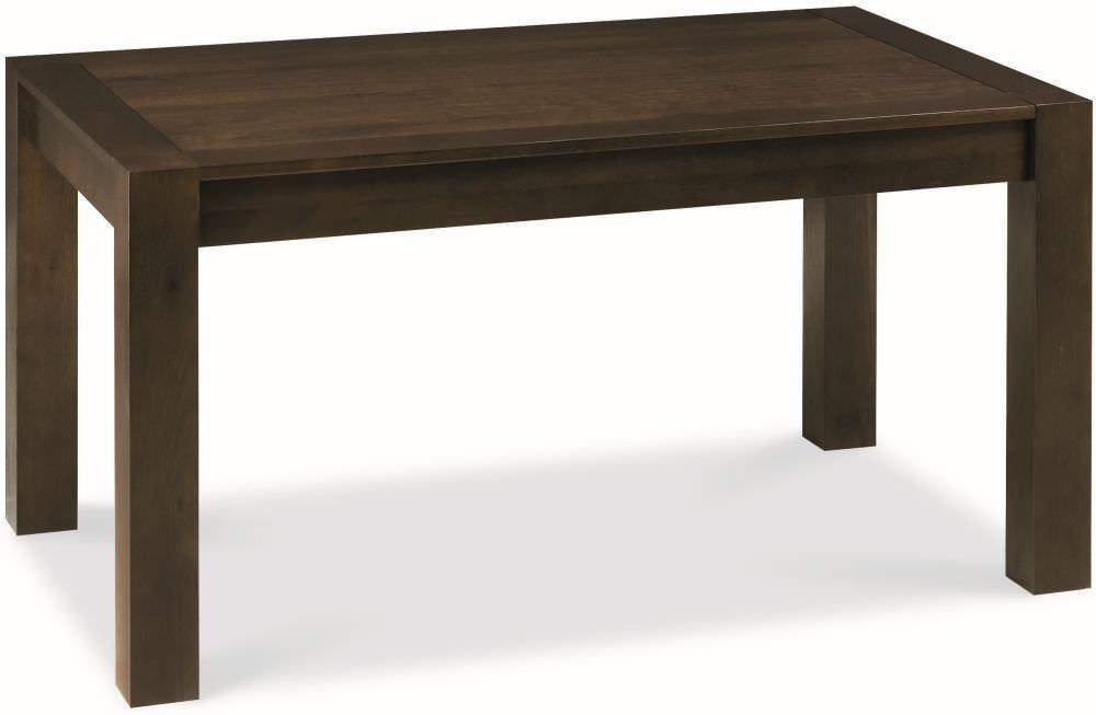 Buy Bentley Designs Lyon Walnut Dining Table – Medium End In Lyon Dining Tables (Image 3 of 20)