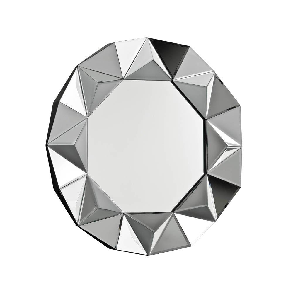 Buy Circular Art Deco Mirror | Buy Art Deco Style Round Wall Mirror With Regard To Artdeco Mirrors (Image 9 of 20)