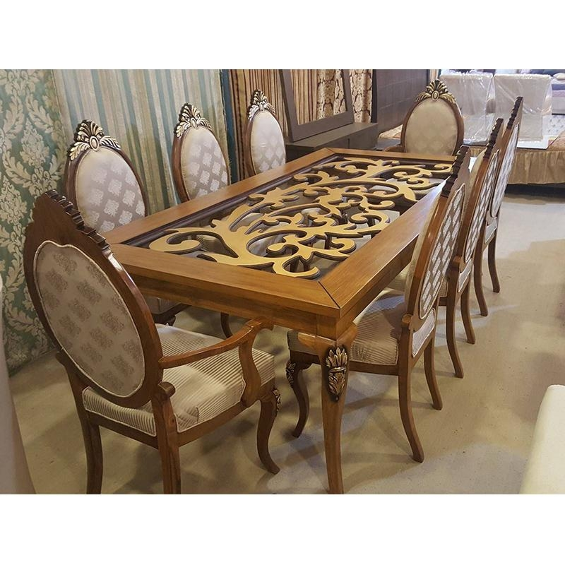 Buy Dining Table (Sheesham Wood) In Pakistan & Contact The Seller Throughout Sheesham Dining Tables (Image 1 of 20)