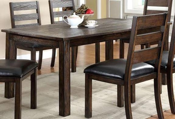 Buy Furniture Of America Cm3680T Edmonton Dining Table With Edmonton Dining Tables (Image 4 of 20)
