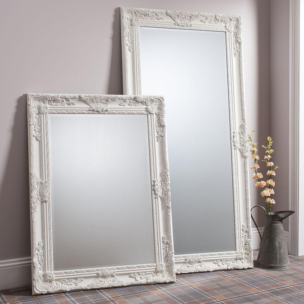 Buy Gallery Direct Hampshire Mirror – Cream Online – Cfs Uk Throughout Cream Mirrors (Image 7 of 20)