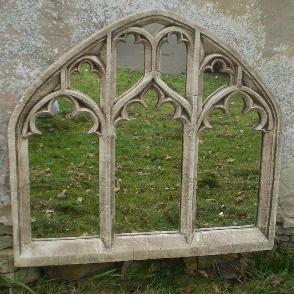 Featured Image of Gothic Garden Mirrors