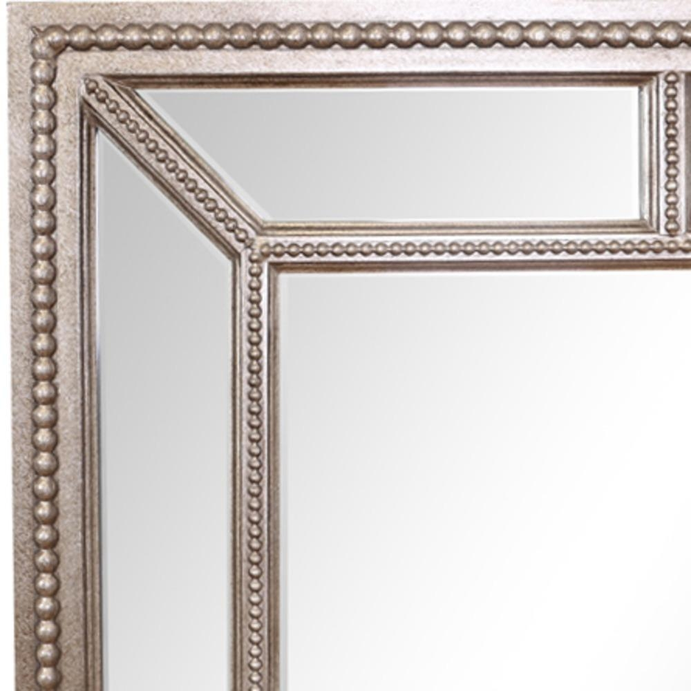 Buy Lawson Pewter Finish Large Mirror | Select Mirrors Intended For Large Pewter Mirror (Image 3 of 20)