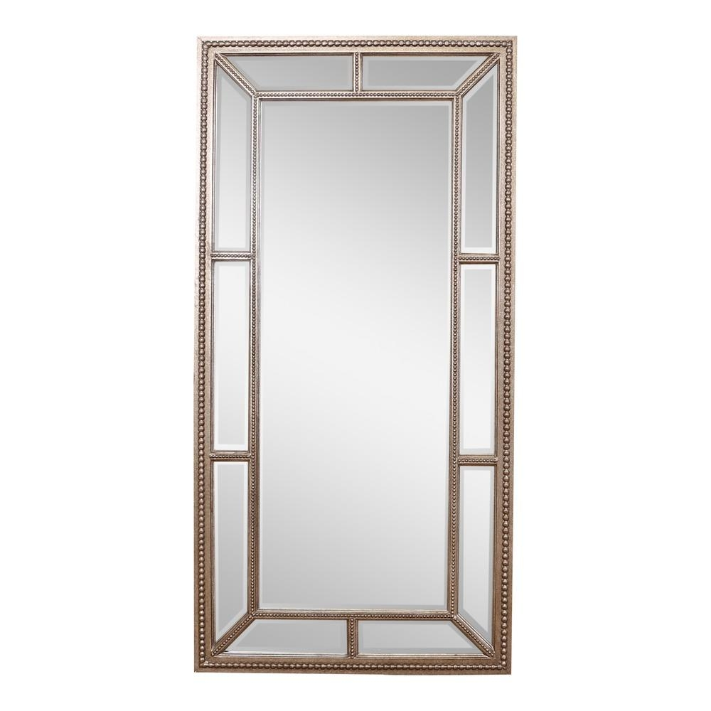 Buy Lawson Pewter Finish Large Mirror | Select Mirrors With Large Pewter Mirror (Image 4 of 20)