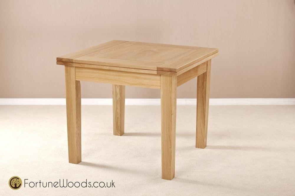 Buy Milano Oak Dining Table – 3Ft Flip Top Extending Online – Cfs Uk With Flip Top Oak Dining Tables (Image 3 of 20)