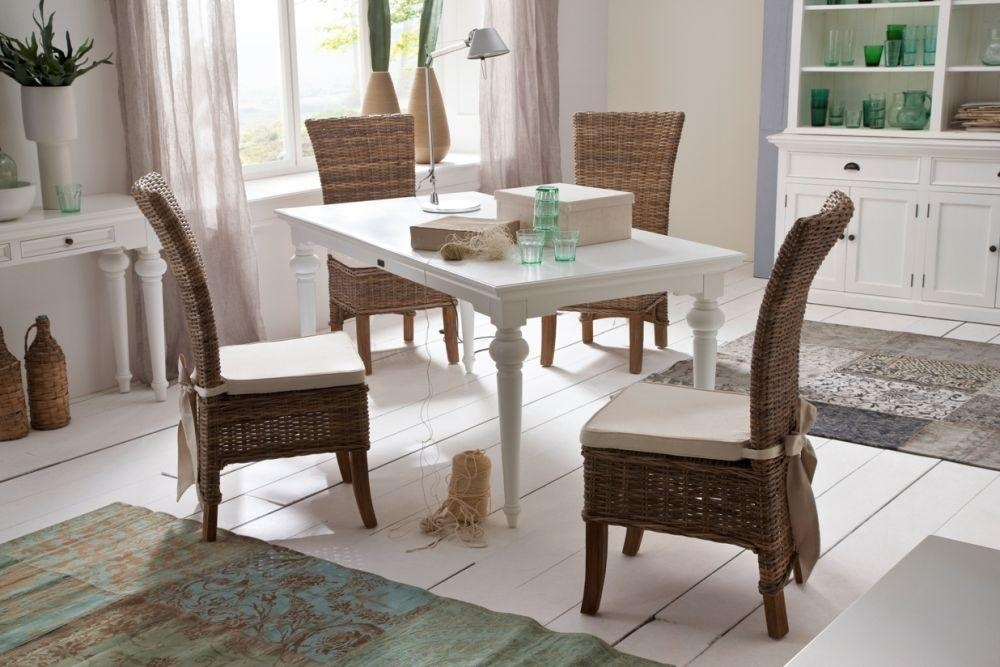 Buy Nova Solo Provence White Dining Table Online – Cfs Uk Inside Provence Dining Tables (Image 4 of 20)