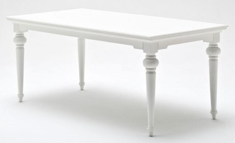 Buy Nova Solo Provence White Dining Table Online – Cfs Uk With Regard To Provence Dining Tables (Image 5 of 20)