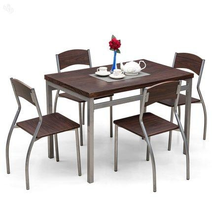 Buy Royaloak Zita Dining Table Set With 4 Chairs Online India In Barcelona Dining Tables (Image 11 of 20)