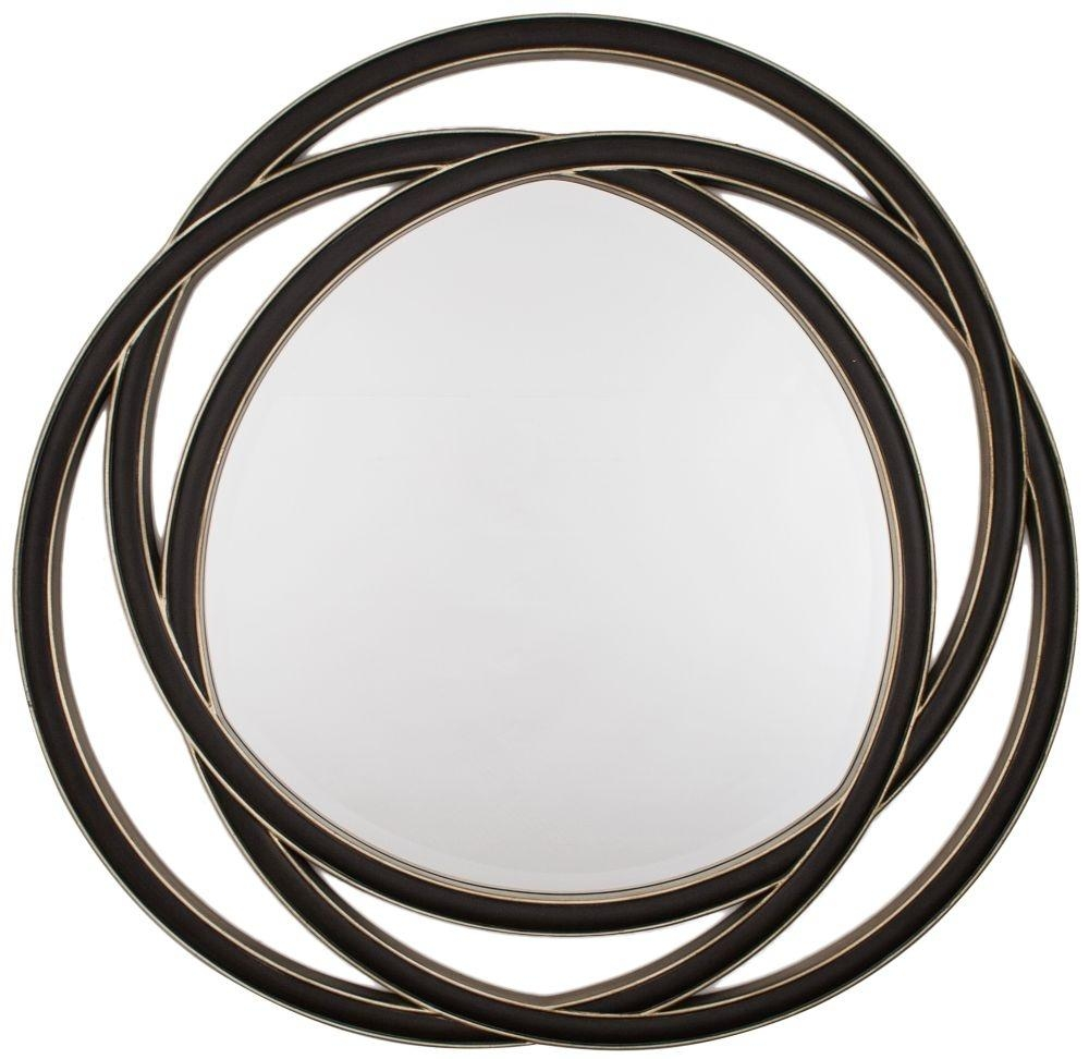 Buy Rv Astley Round Mirror – Black Gloss Online – Cfs Uk Within Round Black Mirror (View 16 of 20)