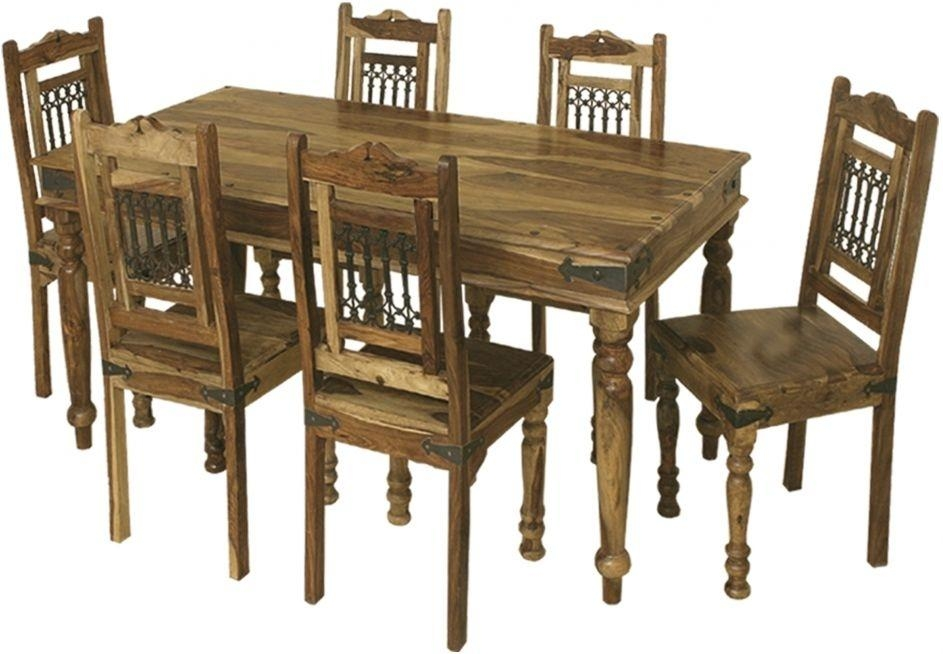 Buy Thacket Dining Table – 6 Seater Online – Cfs Uk For 6 Seater Dining Tables (View 8 of 20)