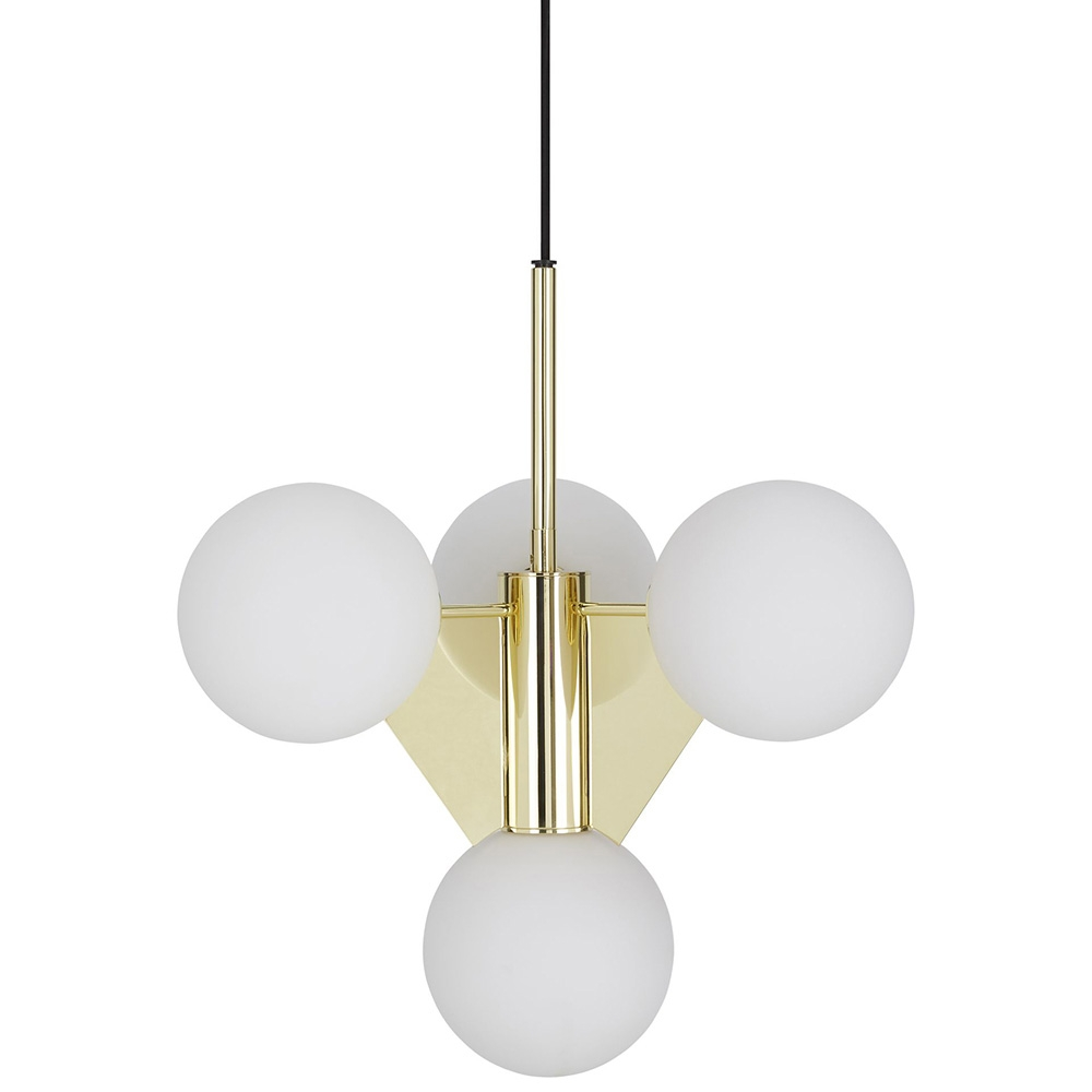 Buy The Plane Short Chandelier Tom Dixon Regarding Short Chandelier Lights (Image 9 of 25)