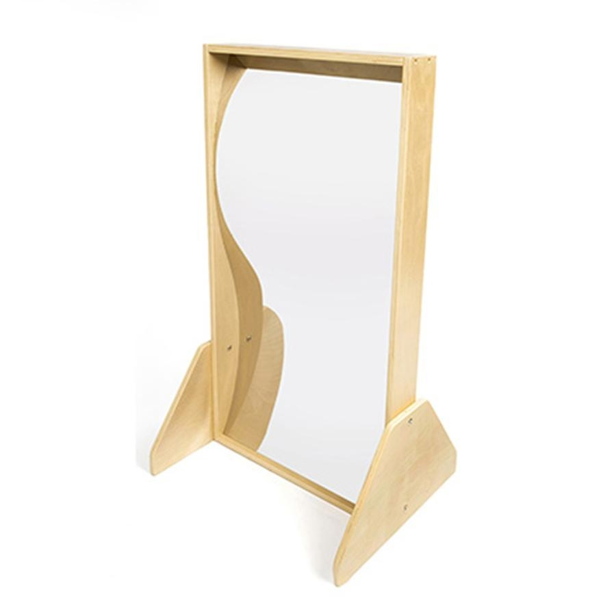 Buy Wooden Framed Freestanding Carnival Mirrors | Tts For Small Free Standing Mirrors (Image 8 of 20)