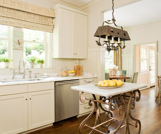 Cabinets Various Small Space Kitchen Island Design Ideas Vintage Inside Small Rustic Kitchen Chandeliers (Image 9 of 25)
