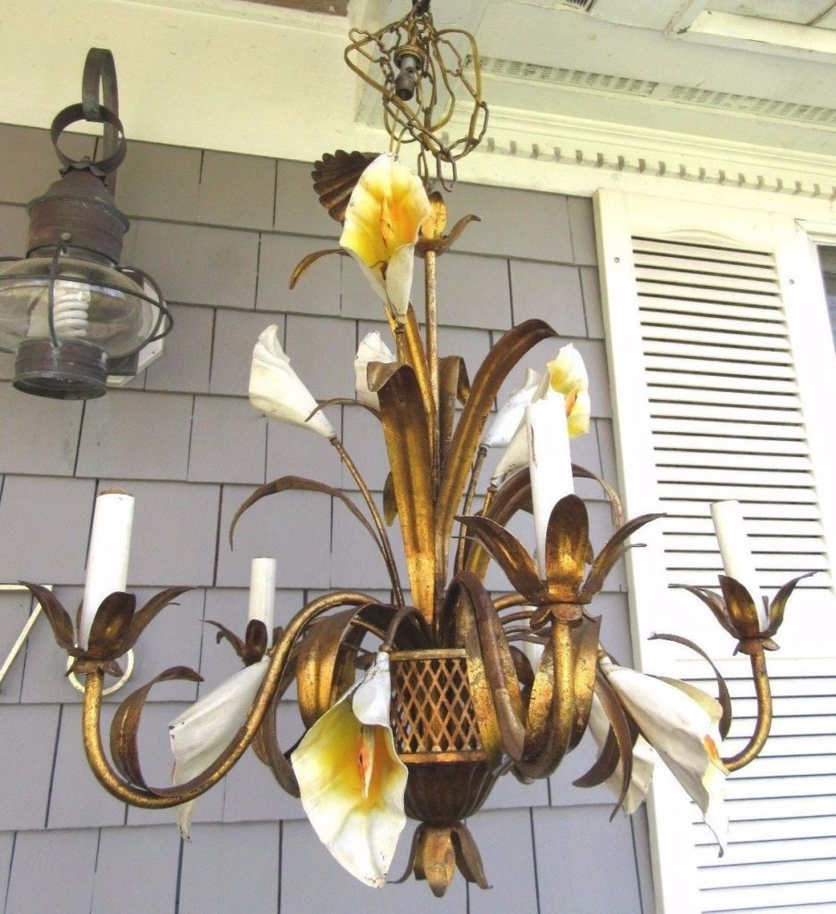 Calla Lily Chandelier Chandeliers Design Beauteous Antevortaco Regarding Lily Chandeliers (Image 5 of 25)
