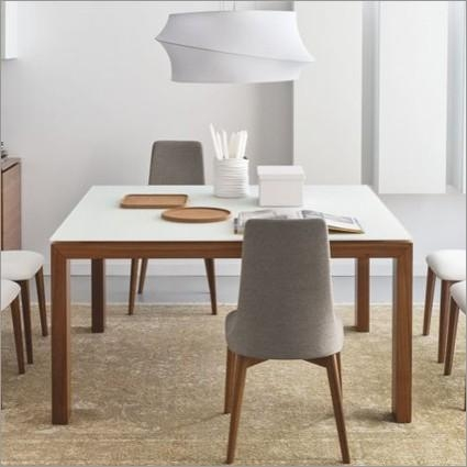 Calligaris Sigma Square Extendable Dining Table Indoor Furniture Uk For Extendable Square Dining Tables (Image 5 of 20)