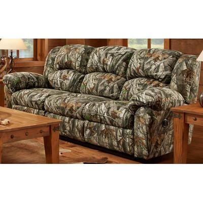 Cambridge Camo Double Reclining Sofa | Wayfair Intended For Camo Reclining Sofas (View 11 of 20)