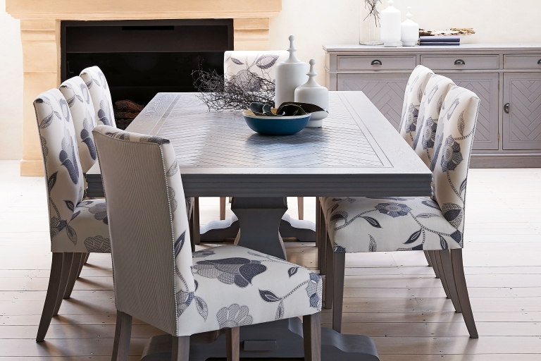 Cambridge Herringbone Dining Table | Domayne Regarding Cambridge Dining Tables (Image 10 of 20)