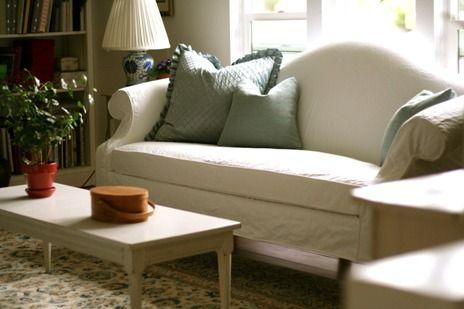 Camelback Sofa Slipcover | For The Home | Pinterest | Sofa Inside Camelback Sofa Slipcovers (Image 4 of 20)