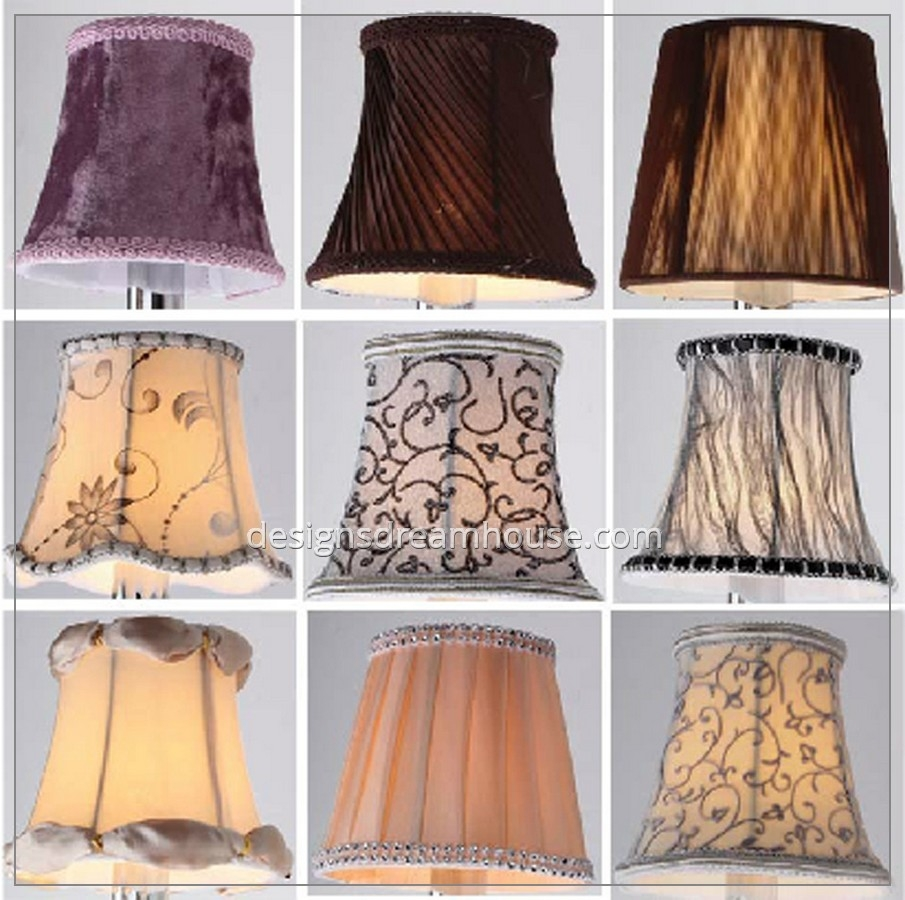 Candelabra Lamp Shades Candelabra Base Clear Glass Shade Led For Lampshades For Chandeliers (Image 2 of 25)