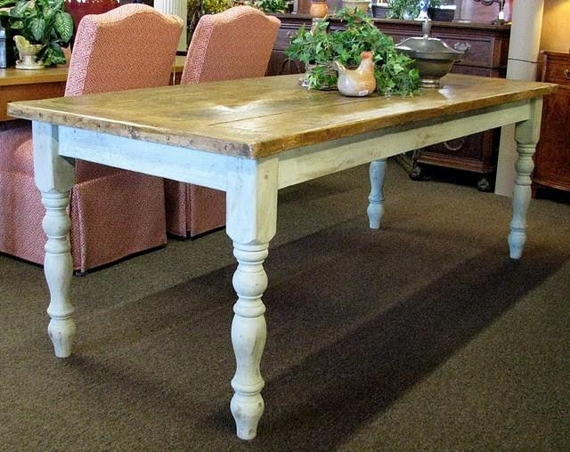 Capricious Country French Dining Table | All Dining Room Pertaining To Country Dining Tables (Photo 7 of 20)