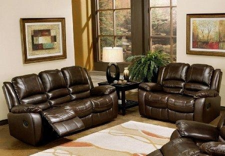 Captivating Leather Reclining Sofa And Loveseat Cheap Reclining For Reclining Sofas And Loveseats Sets (Image 6 of 20)