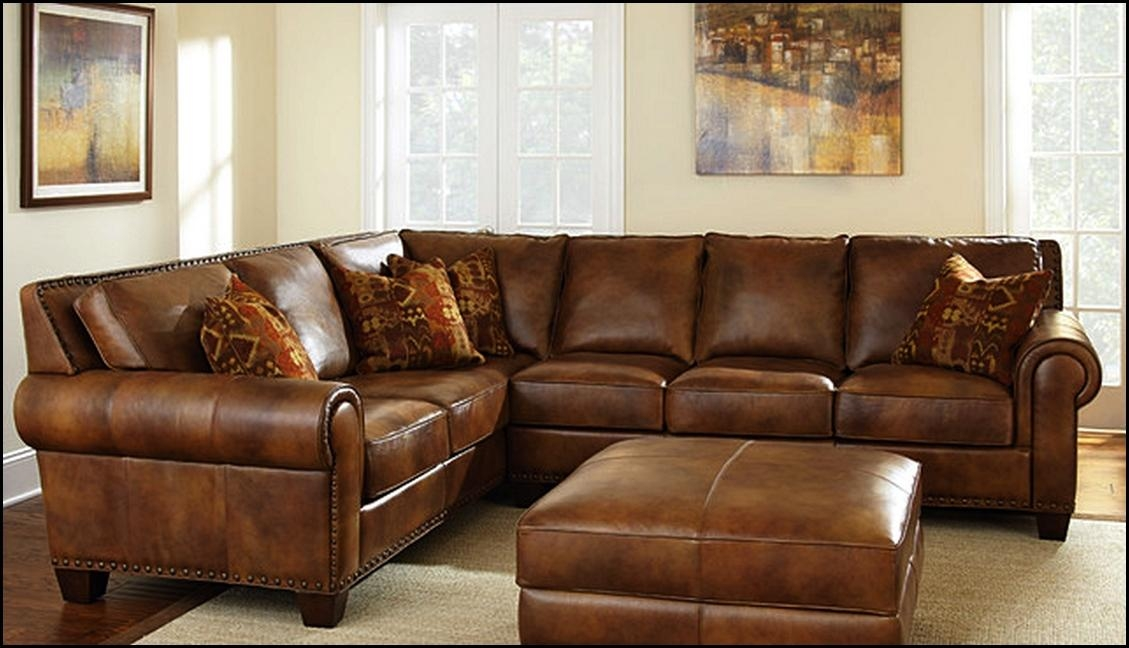 Caramel Leather Sofa Throughout Carmel Leather Sofas (Image 10 of 20)